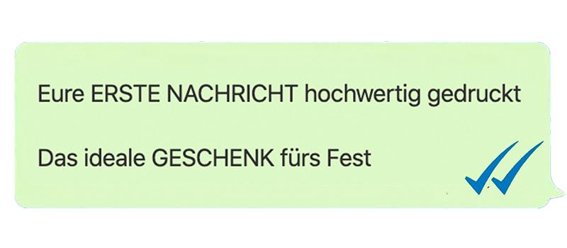 Siebdruck Regensburg Textildruck Message