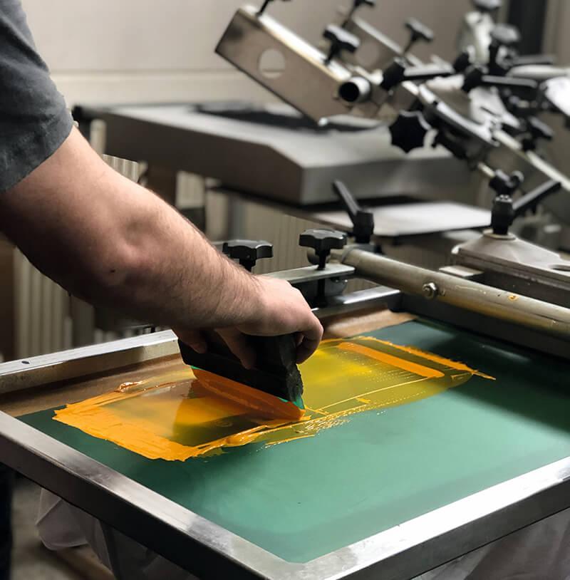 Siebdruck Regensburg - die regionale Druckerei